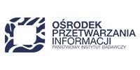 Logotyp Ośrodka Przetwarzania Informacji Państwowy Instytut Badawczy